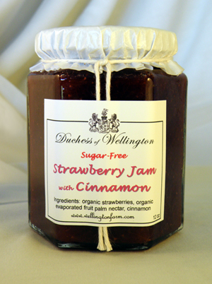 strawberry jam with cinnamon